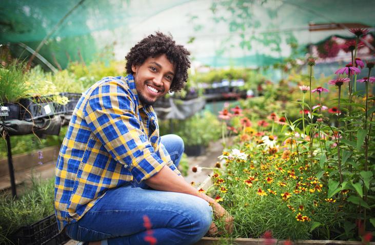 Greenhouse florist.